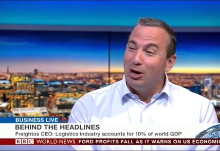 Freightos CEO Zvi Schreiber on BBC World News